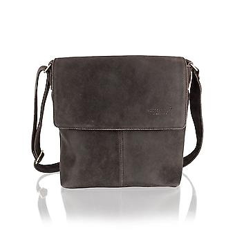 Crackle Landscape Messenger Bag 14.5