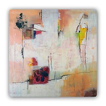 Metalen print, abstracte kunst 2