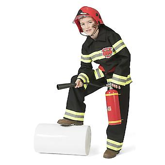 Costume de pompier Costume Fire Fire Fire Train Costume Boy