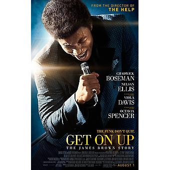 Get On Up - The James Brown Story Original Movie Poster Double Sided Regular