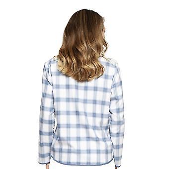 Cyberjammies 4240 naiset ' s Harper sininen sekoitus Tarkista puuvilla pyjama alkuun