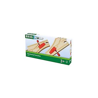 Brio 33344 Brio Mechanical Switches Points.  Wooden Railway