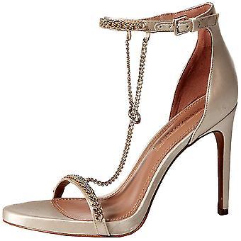 BCBGMAXAZRIA Womens ella Fabric Open Toe Casual Ankle Strap Sandals