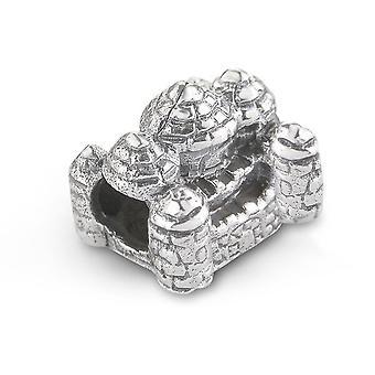 Encanto de perlas de recuerdo del castillo escocés