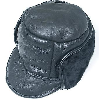قبعة الصياد الجلود Napper الصوف رجالي