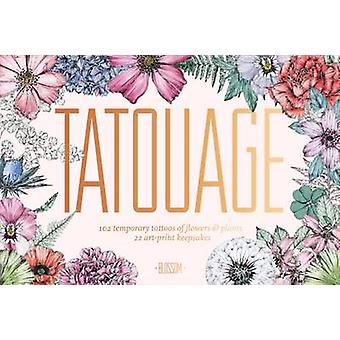Tatouage Blossom 102 Temporary Tattoos of Flowers  Plants by Victoria Foster