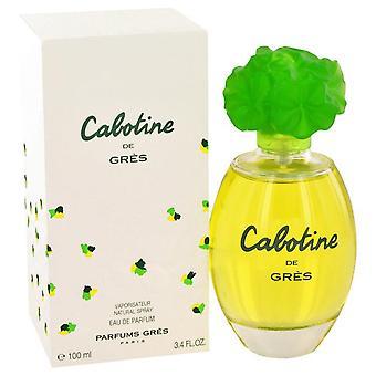Cabotine eau de parfum spray by parfums gres 412692 100 ml