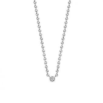 Necklace and pendant Ti Sento 3906ZI - necklace and pendant silver Oxyd
