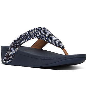 FitFlop™ Lottie Chain Print Womens Toe Post Sandals
