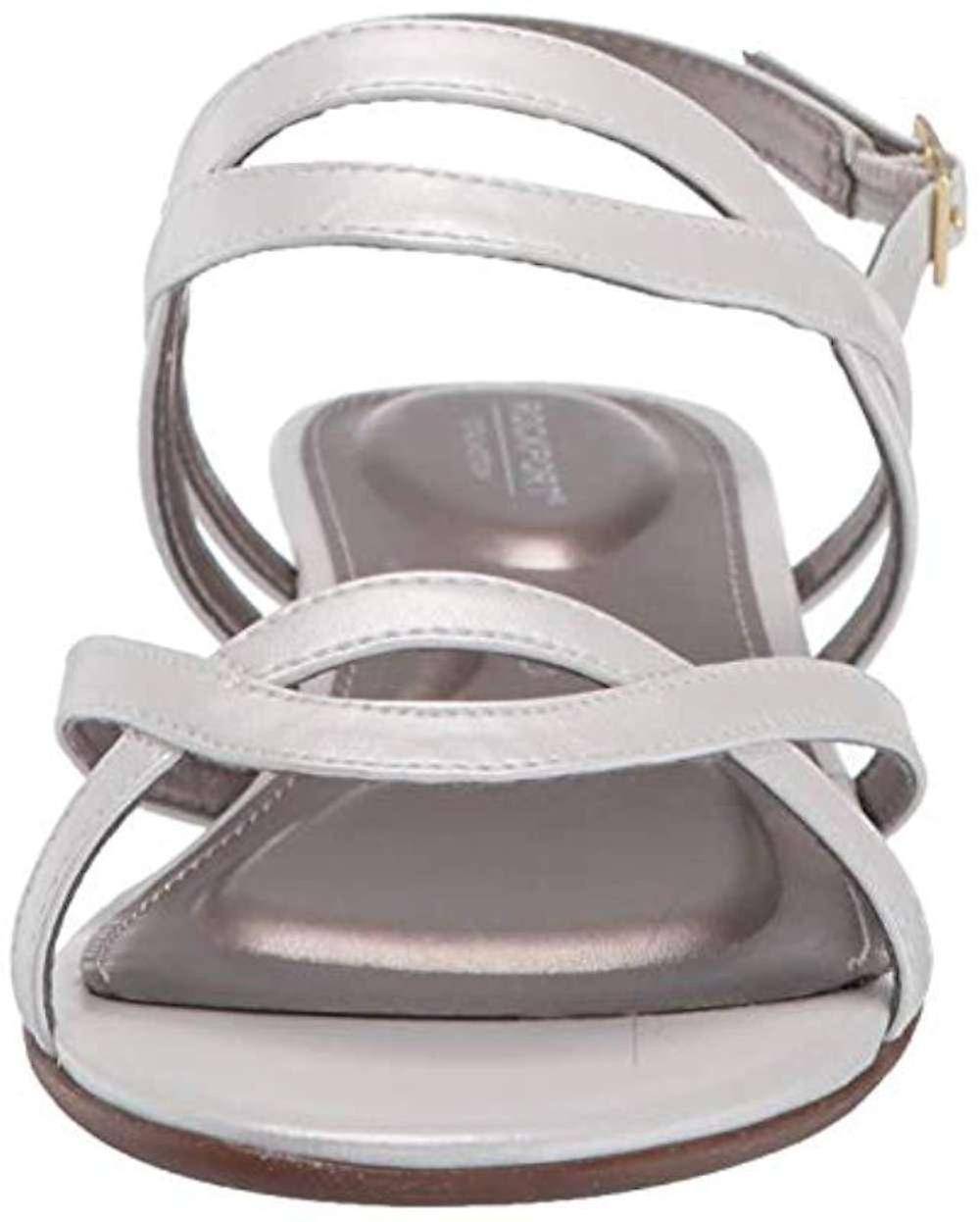 Rockport Womens Zandra Leather Open Toe Casual Ankle Strap Sandals Ghgon8