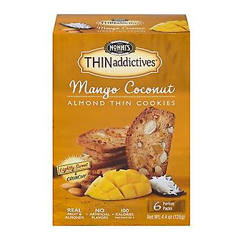 Nonni's Thinaddictives Mango & Coconut Almond Thin Cookies