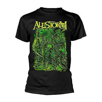 Alestorm Pirate rock metal 2 officiella T-shirt