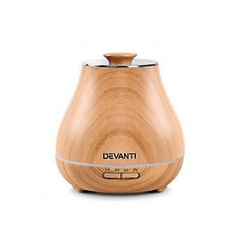 Aroma Diffuser Air Humidifier Light Wood Grain 400Ml
