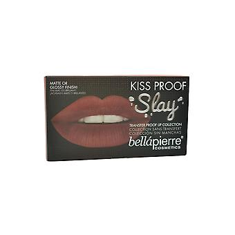 Bellapierre Transfer proof lip collectie modderige Rose-lip creme, liner, finish