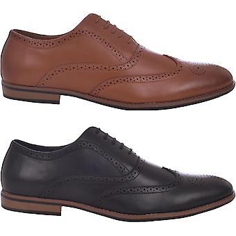 Duke D555 Mens Paul Smart Formal Lace Up Brogues Shoes