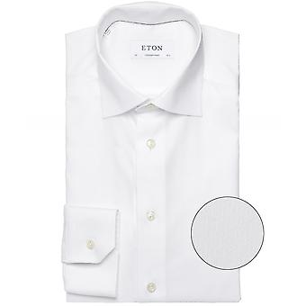 Eton Contemporary Fit Micro Patroon Shirt