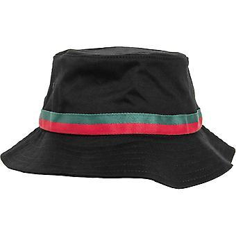 Flexfit by Yupoong Mens Stripe Fishing Bucket Hat