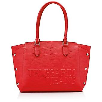 Trussardi Jeans Melly Bag Tote Donna Rosso (Red) 33x24x16 cm (W x H x L)