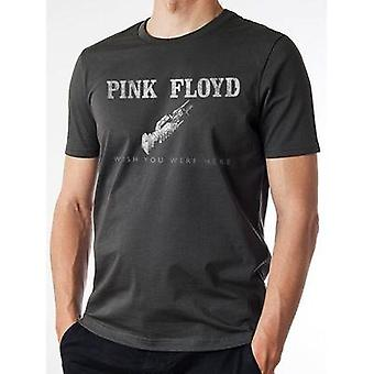 Pink Floyd -  Wish You Were Here Logo Reckless Vintage  T-Shirt