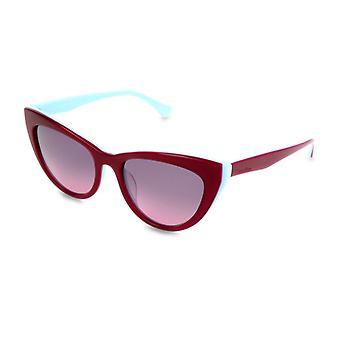Calvin klein kvinnor & apos; s gradient solglasögon röda ck5934s