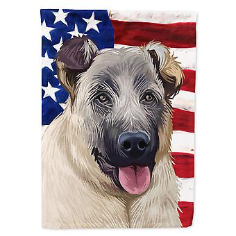 Carolines Treasures CK6584CHF Kangal Hund American Flag Flag Canvas House Størrelse