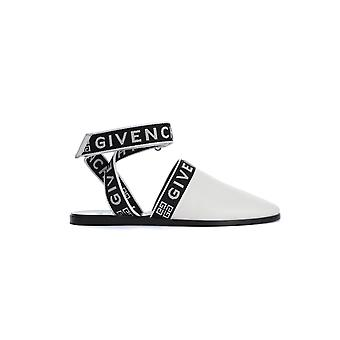Givenchy Be200se0mr116 Femmes-apos;s Sandales en coton blanc