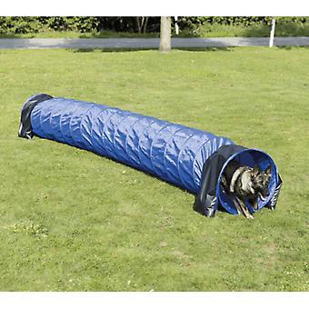 Trixie ловкости тоннель, нейлон/синий 60 см, 5 м (собак, игрушки & спорта, ловкости)