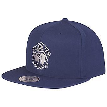 Mitchell & Ness Snapback Cap - NCAA Georgetown Hoyas navy