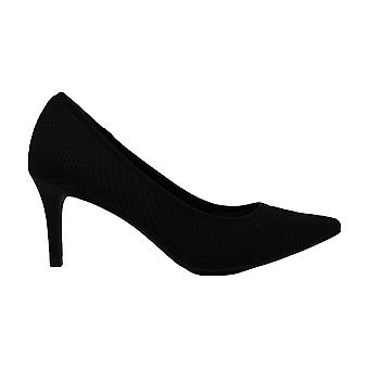 Alfani Womens Jeules Knit Fabric Pointed Toe Classic Pumps