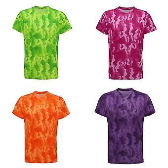 Tri Dri Mens Hexoflage Performance Short Sleeve T-Shirt