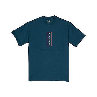 Elemento Arata Camiseta de Manga Curta em Legion Blue