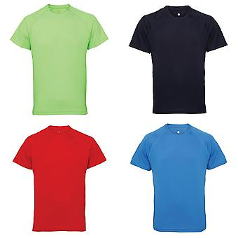 Tri Dri Mens Panelled Short Sleeve T-Shirt