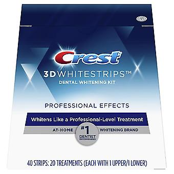 Crest 3d white luxe whitestrips, professional effects, 20 ea