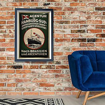 Agentur Hamburg Poster Print Giclee