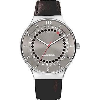 Danish Designs DZ120581-wrist watch, Man, Skin, colour: black