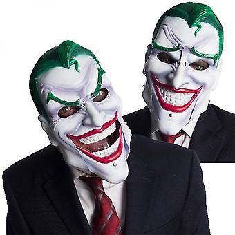 Joker Maske mit beweglichen Augenbrauen und Mund