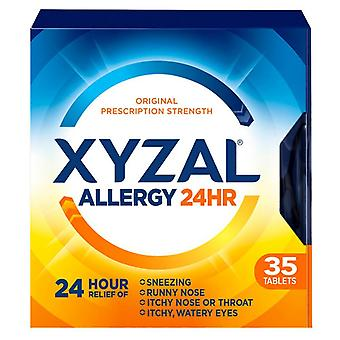 Xyzal allergi relief, roomservice 24 timer, tabletter, 35 ea