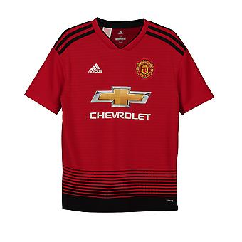 Manchester United FC Officiel Football Gift Boys Home Kit Shirt 2018 2019