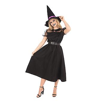Bristol Neuheit Frauen/Damen Classy Hexe Halloween Kostüm