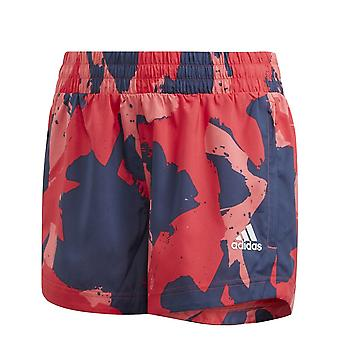 Adidas Girls Shorts estampados tejidos