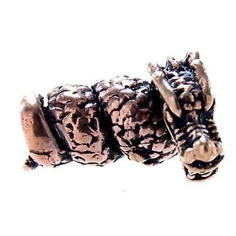 Dragon de mărgele cu barbă 5 mm-bronz