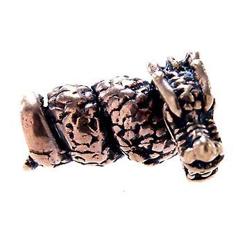 Beard bead dragon 5 mm - bronze