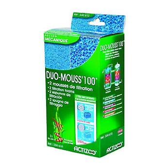 Actizoo Foamex Duo Mousse 100 10X23X7 Cm.