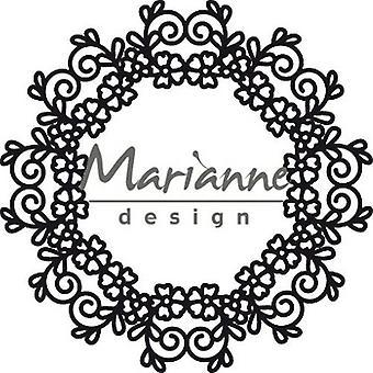Marianne Design Craftables Da taglio Dies - Floreale Doily CR1470 110 mm
