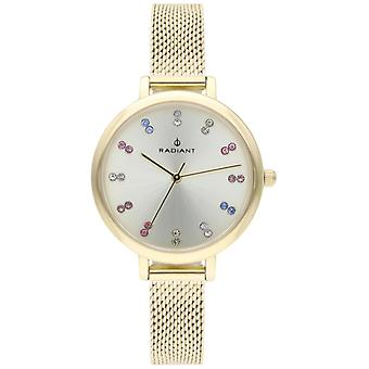 Radiant Selene Quartz Analog Woman Watch with RA513603 Gold Plated Stainless Steel Bracelet