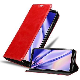 Futerał Cadorabo do obudowy Asus ROG Phone 2 case case - etui na telefon z magnetycznym zapięciem, funkcją stojaka i komorą na kartę - Obudowa ochronna Case Book Folding Style