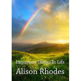 Important Things In Life by Rhodes & Alison