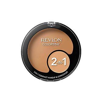Revlon Colorstay 2 i 1 kompakt sminke og Concealer 11g Sand Beige #180