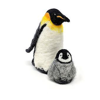 Kit di feltro dell'ago dei pinguini dell'imperatore