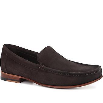 Jones Bootmaker Mens Declan Suede Leather Loafer